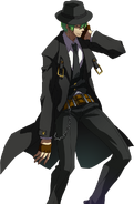 Hazama (Story Mode Artwork, Defeated)