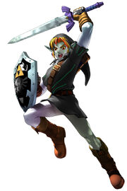 Link, artwork