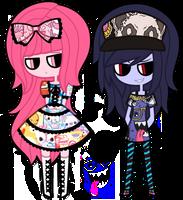 File:Marceline princess bubblegum by nekozneko-d4rkqvs.png