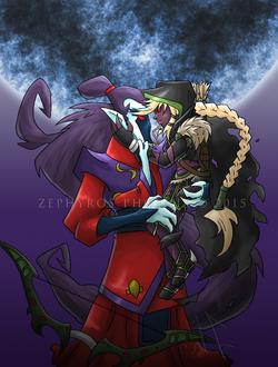 Dark Archer and her Moon