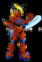 Skye Wolfe armor red