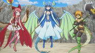Dragon girls ready to fight