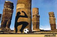 1986 Football World Cup poster