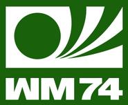 1974 Football World Cup logo