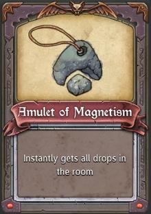 Amulet of Magnetism