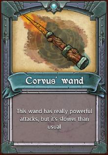 Corvus' Wand