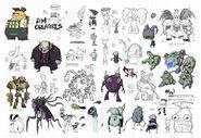 Zim creatures