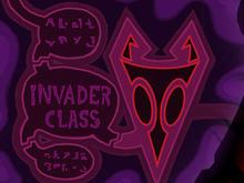 Invader Class Insignia