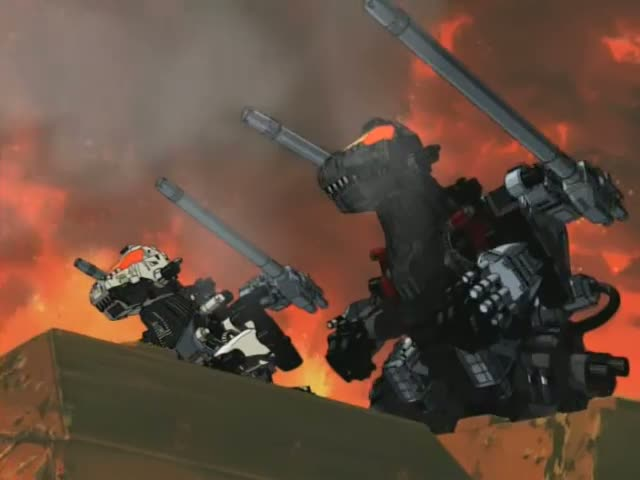 Image result for zoids chaotic century kruger and irvine