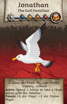 Zombicide Black Plage - Animal Companion - Gull Famillar