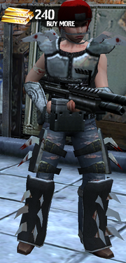 Spiked Armory & Heave Assualt Rifle