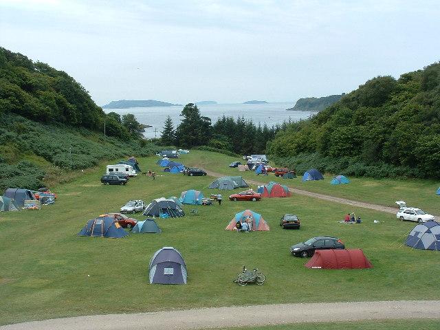 File:Gallanach Campsite - geograph.org.uk - 36570.jpg