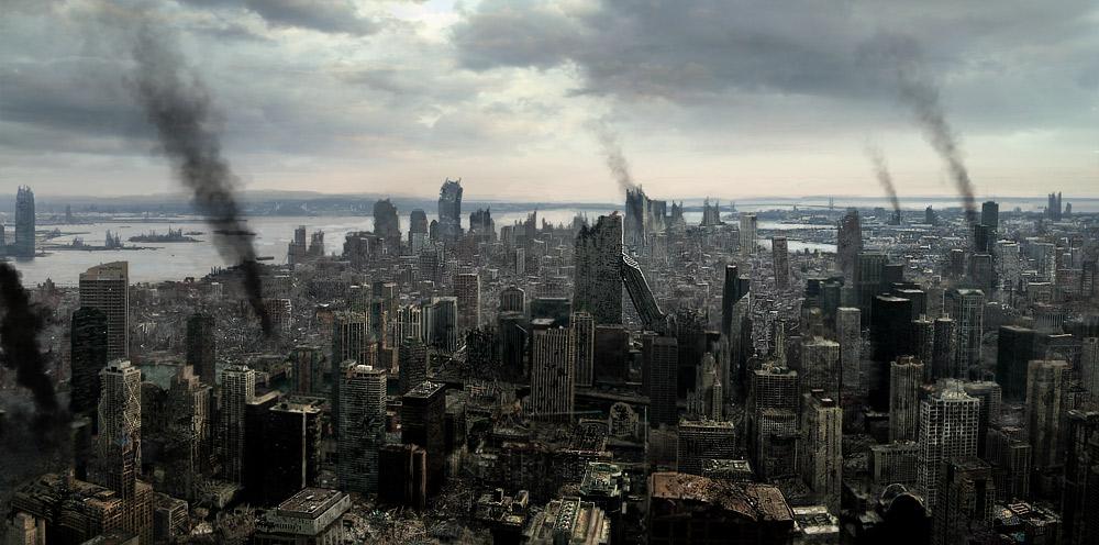 Image - Destroyed city.jpg | Zombiepedia | Fandom powered by Wikia