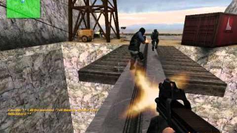 Gameplay Counter-Strike Source zombies(ze jurassicpark V2)