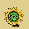 Green Flower Zombie Icon