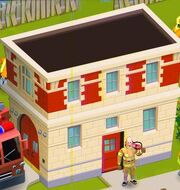 Fire station finished
