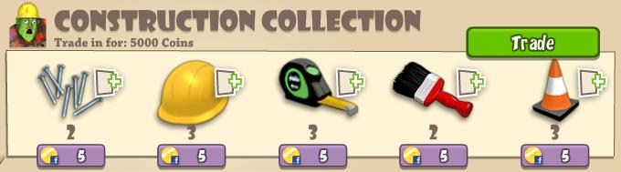 Construction zombie collection
