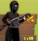Female version grenade launcher