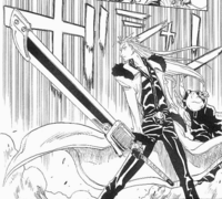 Gamma's sword