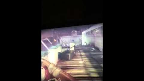 ZombiU - how to find the M4 shotgun and a dee letter
