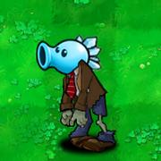 Snow pea zombie-0