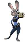 Judy Badge Render