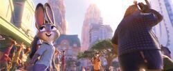 Judy fast walking