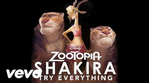 """Shakira - Try Everything (From """"Zootopia"""" (Audio Only))"""