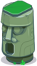 Gemgate tiki green