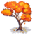 Orange Maple Tree-icon
