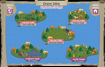 Gravy Isles map