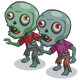 Zombie Couple-icon