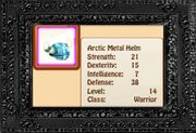 Arctic Metal Helm